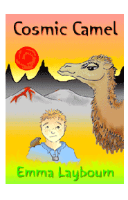 The cover of Cosmic Camel by Emma Laybourn