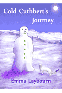 The cover of Cold Cuthbert's Journey by Emma Laybourn, a free children's Christmas 
