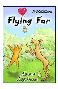 the cover of the children's ebook Flying Fur by 
