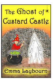 the book cover of The Ghost of Custard Castle, six short funny, creepy stories