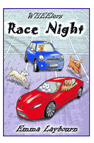the cover of the children's ebook Race Night by 